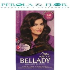 Coloraçao Wella Bellady 2.0 Preto