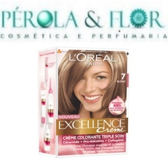 Coloraçao Excellence LOREAL N.7 Loiro