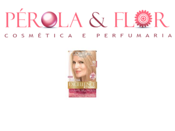 Coloraçao Excellence LOREAL N.10 loiro Clarissimo