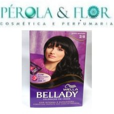 Coloraçao Wella Bellady 2.8 Preto Azulado