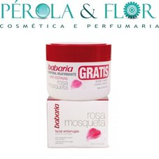 Babaria - Creme Facial Antirugas 50ml Oferta Body Cream Anti-Estrias 250ml