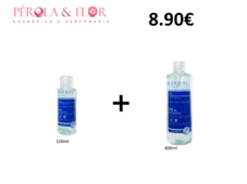 Gel desinfectante  Kueshi 70% alcool 400ml+100ml kit